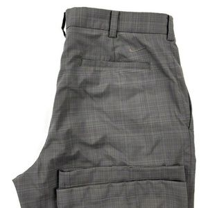 Nike Golf Checkered Stretch Polyester Pants